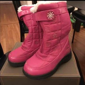 Girls sz 10 Totes snow boots